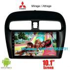 Mitsubishi Mirage Attrage Car audio radio android GPS navigation camera