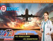 Use Immaculate Medical Care Air Ambulance in Patna by Medivic