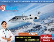 Pick Excellent Quality-Based Air Ambulance in Ranchi by Medivic
