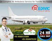 Take Vary Popular Charter Air Ambulance in Varanasi by Medivic