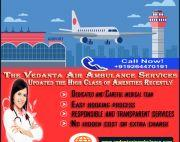 Perfect ICU Medical Facilities by Vedanta Air Ambulance in Patna