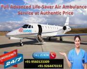 Supercilious Healthcare by Medivic Air Ambulance in Guwahati