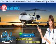 Reliable Emergency Service by Medivic Air Ambulance in Jamshedpur