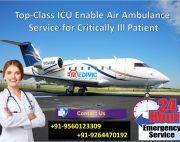 Medivic Air Ambulance in Patna for Instant Transportation Service