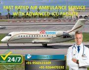 Take Top-Level Life-Saver Air Ambulance in Varanasi by Medivic