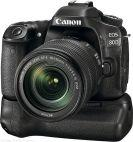Canon canon 80 with 18-135mm nano usm lens battery grip