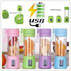 PORTABLE AND RECHARGEABLE BATTERY JUICE BLENDER  N POWERBANK