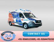 Utilize Top-Rated ALS Ambulance Service in Jamshedpur by Medivic