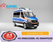 Take Complete Cardiac Emergency Ambulance Service in Patna