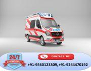 Perfect Patient Rescue by Medivic Ambulance Service in Ranchi