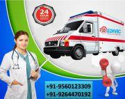 Pick Medivic Ambulance Service in Bokaro with Hi-tech Medical Support