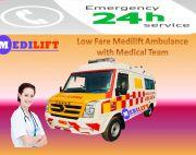 Get High Rated Emergency Ambulance Service in Patna