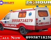 Now Book Medilift Low-Cost Ventilator Ambulance in Ranchi