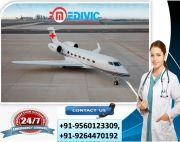 Avail Splendid Air Ambulance Services in Lucknow at Less Amount