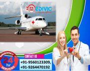 Get Fast Rated ICU Setup Air Ambulance Services in Raipur by Medivic