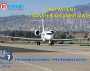Hire India No-1 and Superior Air Ambulance Services in Delhi by Medivic
