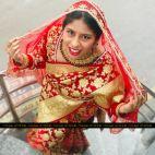 Heavy Bridal Banarasi Saree - Nepali Traditional Saree